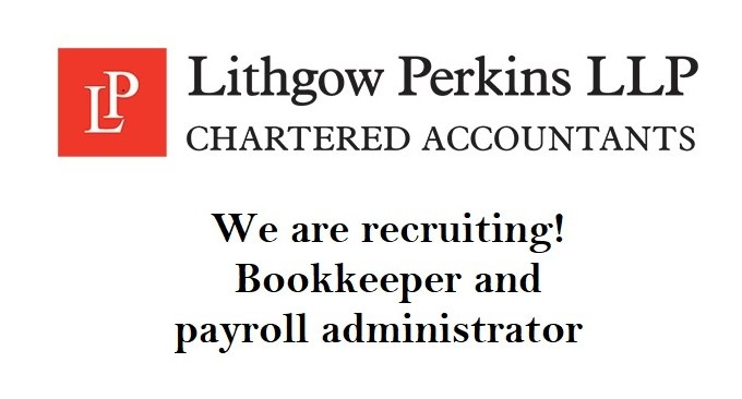 Bookkeeper and payroll administrator vacancy